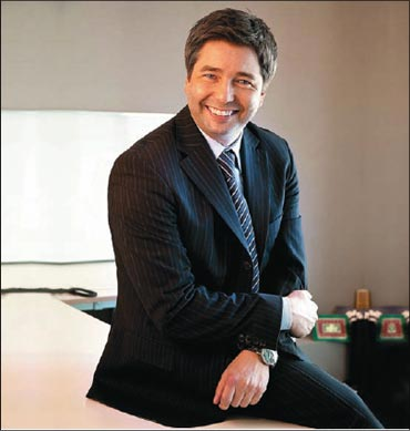 Thomas Kuehl, Board Member and Director (Sales and Marketing), SkodaAuto India.
