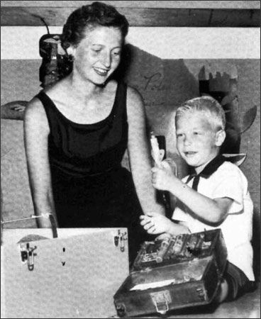Bill Gates with his mother, Mary, who died in 1994.