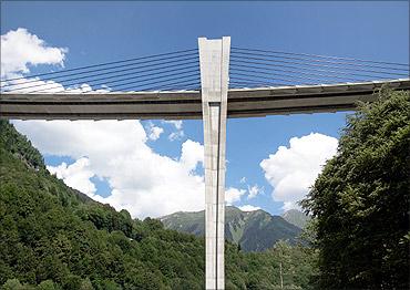 Sunniberg Bridge.