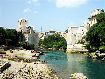 Stari Most bridge.