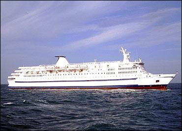 Scotia Prince at sea.