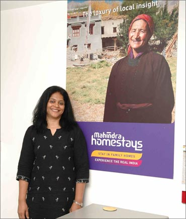 Vimla Dorairaju, business head, Mahindra Homestays.