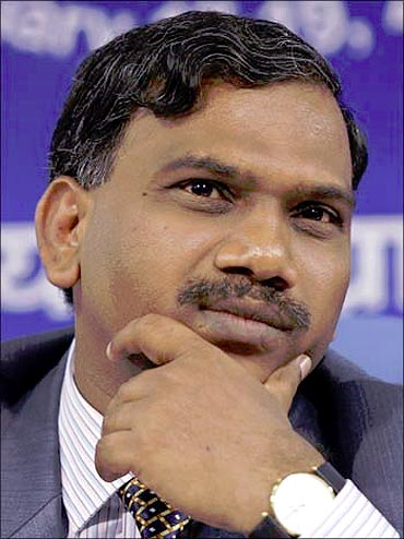 A Raja, former telecom minister.