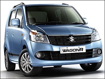 Maruti WagonR.