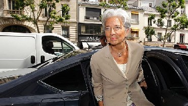 Christine Lagarde, Minister of Economy, Industry and Employment  of France