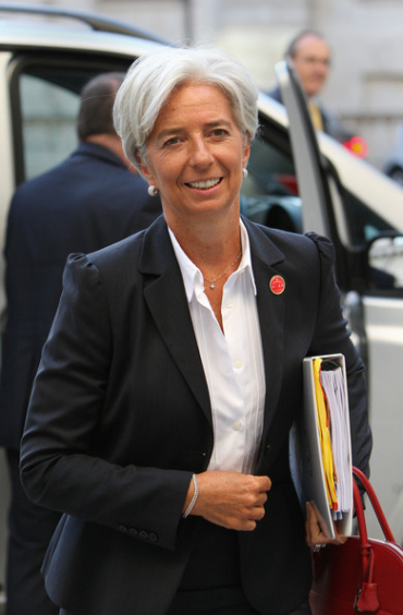 Christine Lagarde is the front runner.