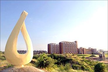 NIIT university campus.