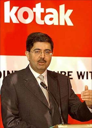 Kotak Mahindra Bank chairman Uday Kotak.