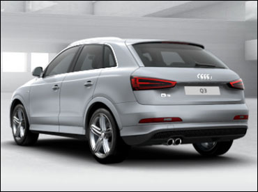 Rear view of Q3.