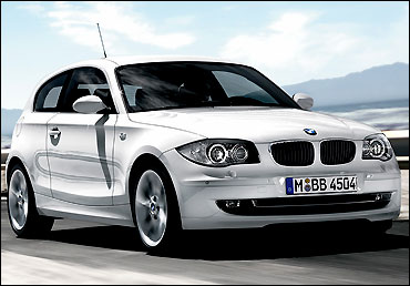 BMW 1 Series 3-door hatch.