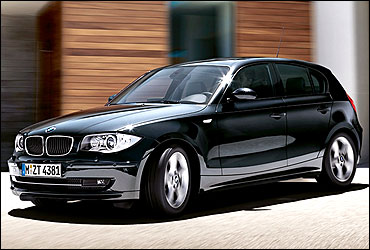 BMW 1 Series 5-door hatch.