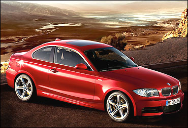 BMW 1 Series coupe.