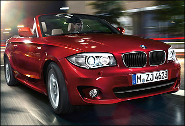 BMW 1 Series Convertible.