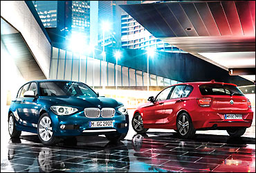BMW 1 Series cars.