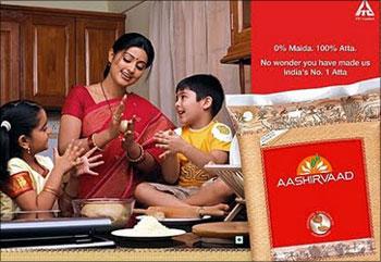 Aashirvaad atta is an ITC brand.
