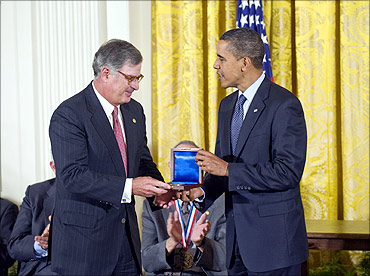 IBM wins US National Medal of Technology.