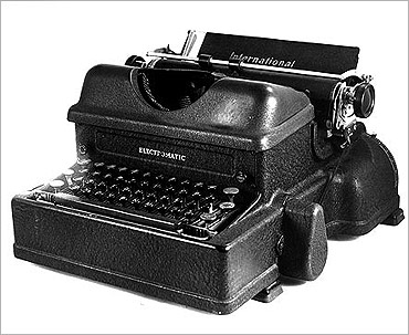 IBM typewriter.