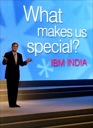 IBM bullish on India.