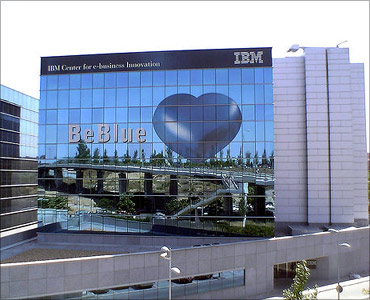 IBM office.