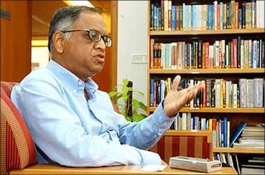 N R Narayana Murthy, ex-chairman, Infosys.