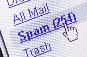 Spam is unsolicited email that you may receive.
