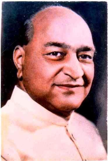 Sir Padampat Singhania.