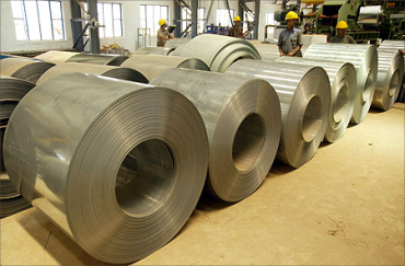 Steel industry is under pressure.