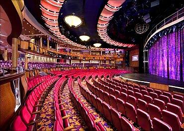 Amber theatre.