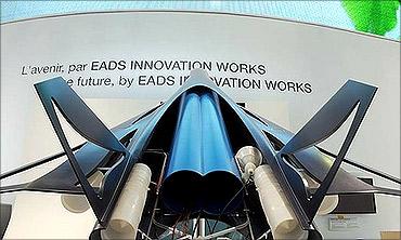 Hypersonic passenger jet from EADS.