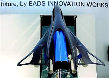 Supersonic plane from EADS.