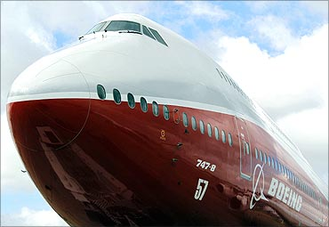 New 747-8 Intercontinental.
