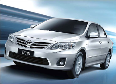 The new Toyota Corolla Altis.