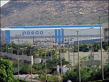 Posco site in Orissa.