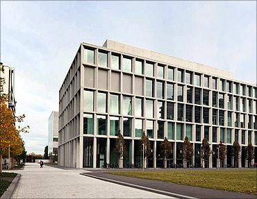 Laboratory Building, Basel, Switzerland.