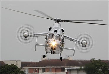Eurocopter X3 helicopter.
