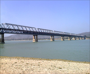 Brahmaputra Bridge.