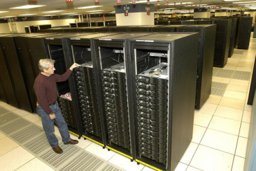 It is a one-of-a-kind supercomputer.