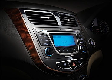 Music system in Fluidic Verna.