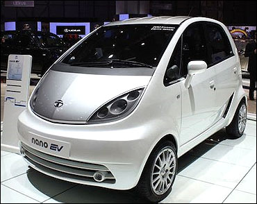 Electric Beat Unveiled More Green Cars To Follow Rediff Com