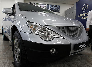 Actyon Sports, an SUV from Ssangyong Motor.