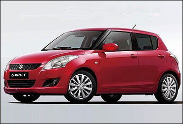 New Maruti Swift.