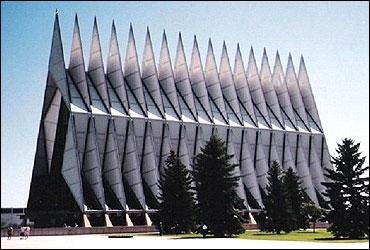 Air Force Academy Chapel, Colorado.