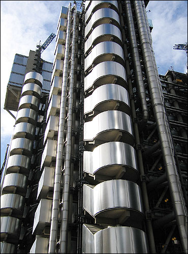Lloyd's building, London.