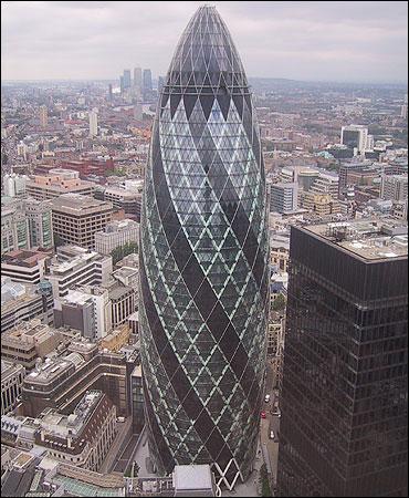 Gherkin Building.