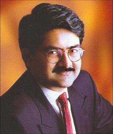 A V Birla Group chairman Kumaramangalam Birla.