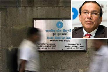 The SBI chief and his crown of thorns