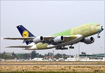 Lufthansa Airlines.