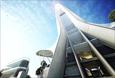 Namaste Tower.
