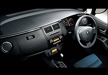 Dashboard of Maruti Cervo.