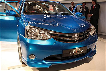 Toyota Etios Liva.